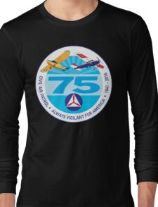 75 Years of Civil Air Patrol Long Sleeve T-Shirt