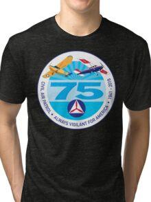 75 Years of Civil Air Patrol Tri-blend T-Shirt