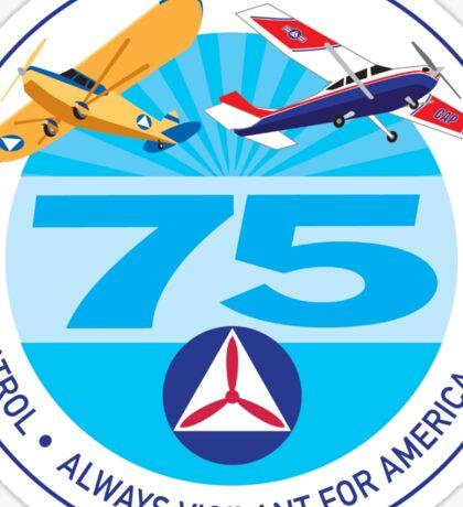 75 Years of Civil Air Patrol Sticker