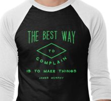 James Murphy-The Best Way Men's Baseball ¾ T-Shirt