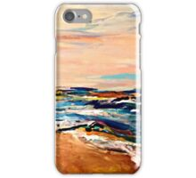 A wave of paint  iPhone Case/Skin
