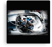 THE DRIVER Canvas Print