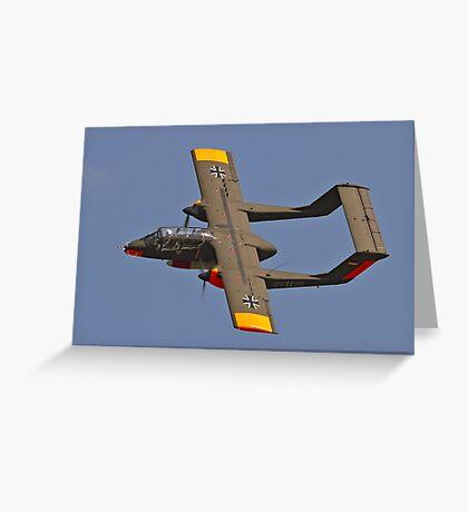 OV-10B Bronco 99+32 G-BZGK Greeting Card
