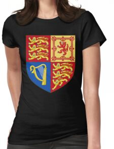 Arms of the United Kingdom Womens Fitted T-Shirt
