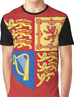 Arms of the United Kingdom Graphic T-Shirt