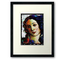 Blue Ruin Framed Print