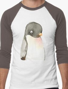 Mr. penguin Men's Baseball ¾ T-Shirt