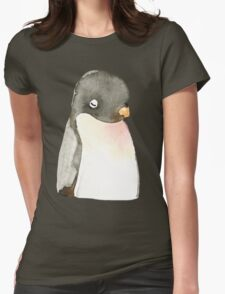 Mr. penguin Womens Fitted T-Shirt