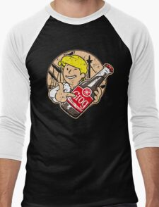 Grog Cola v2 Men's Baseball ¾ T-Shirt