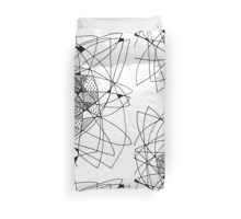 pattern and lines Duvet Cover