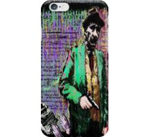 William.S.Burroughs. iPhone Case/Skin