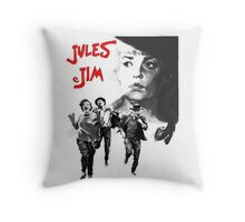 JULES ET JIM Throw Pillow