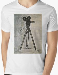 Filmmaking.  Mens V-Neck T-Shirt