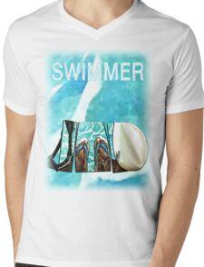 The Swimmer  Mens V-Neck T-Shirt