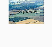 BBMF Lancaster PA474 over Lincolnshire Unisex T-Shirt