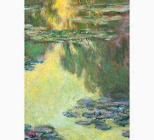 1907-Claude Monet-Waterlilies-73x92 Unisex T-Shirt
