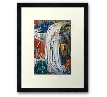 Franz Marc - The Bewitched Mill 1913  Landscape  Framed Print