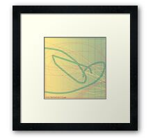 'Sprightly', Abstract Thinking Series 25 Framed Print