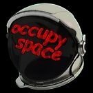 occupy space helmit by IanByfordArt