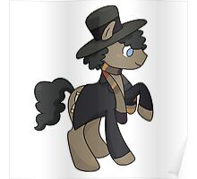 4th Doctor Whooves Poster