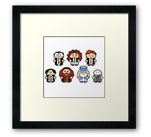 Harry and His Friends Framed Print