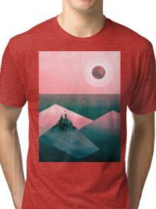 love me gone mountains Tri-blend T-Shirt