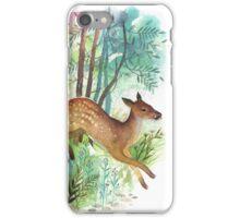 wild deer iPhone Case/Skin
