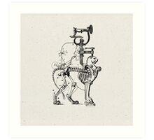 LA HORRIBLE GLORIA DE LOS DIAS MODERNOS (The horrible glory of the modern days) Art Print