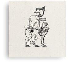 LA HORRIBLE GLORIA DE LOS DIAS MODERNOS (The horrible glory of the modern days) Metal Print