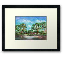 Garden Of Eden Garden Of Eden Garden Of Eden Jardin De Eden Framed Print