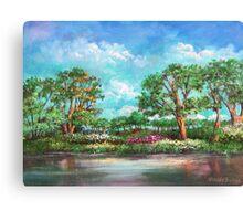 Garden Of Eden Garden Of Eden Garden Of Eden Jardin De Eden Canvas Print