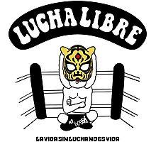 La Luchador15 Photographic Print