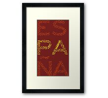Spain - Collage with All Spanish Provinces Framed Print