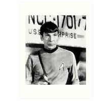 Vintage Trek by JS Art Print
