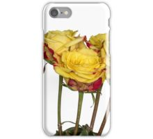 Roses in white iPhone Case/Skin