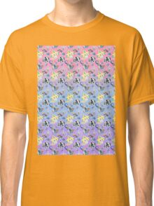 Steel Types - Pokemon - Patterned Pastels Rainbow Classic T-Shirt