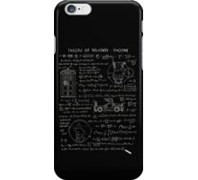 Theory of relativity : spacetime iPhone Case/Skin