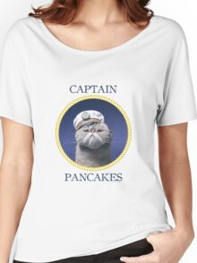 Captain Pancakes Women's Relaxed Fit T-Shirt