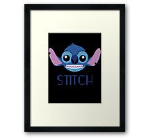 Stitch! Framed Print
