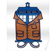 Tennant TARDIS Poster