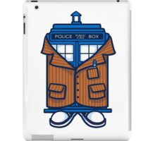 Tennant TARDIS iPad Case/Skin
