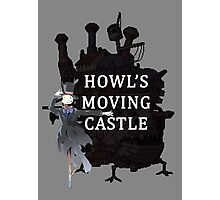Howl's Moving Castle Photographic Print