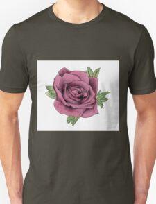 Watercolour Rose T-Shirt