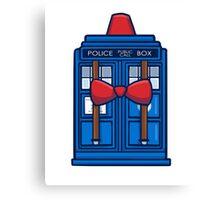 Smith TARDIS Canvas Print