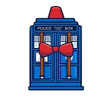 Smith TARDIS Photographic Print