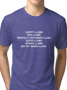 Happy Llama Twaimz Tri-blend T-Shirt