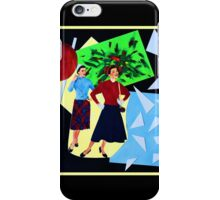 Shopping with the Evil Twin iPhone Case/Skin