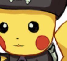 Captain Pikachu Sticker