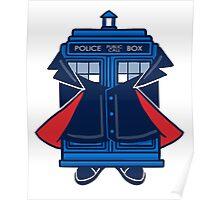 Capaldi TARDIS Poster