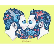 Beards in Love Photographic Print